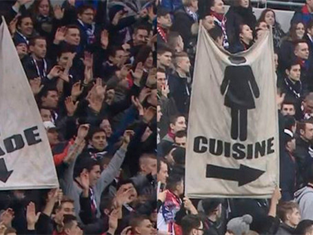Machismo en las gradas del Lyon
