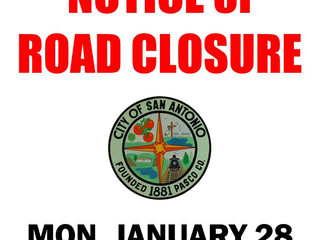 Notice of Road Closure - Pennsylvania Avenue Water Line Repair
