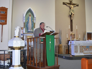 Mayor Anderson Helps St. Anthony School Celebrate Catholic Schools Week