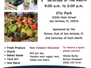2nd Saturday Farmers Market Will Resume In September