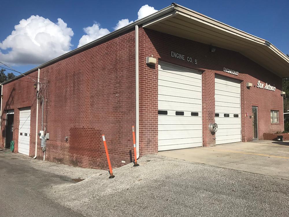 Historic San Antonio fire station building