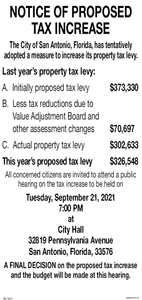 FY 2021-2022 Budget Hearing