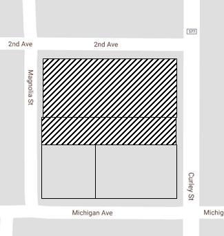 Map of Magnolia Pharmacy PUD location