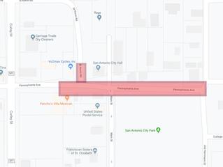 Notice of Road Closure - October 19th