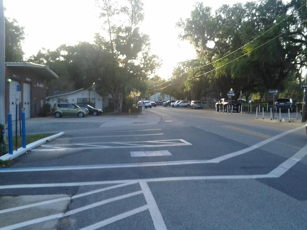 Parking lot area of San Antonio City Hall