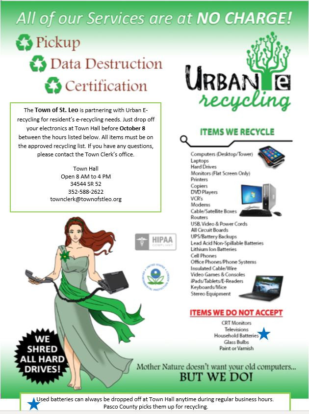 E Recycling advertisement