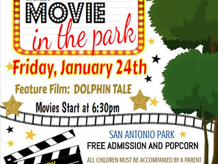 Movie In The Park - January 24th