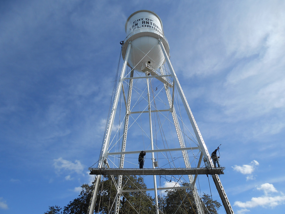 San Antonio water tower