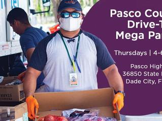 Feeding Tampa Bay Mega Pantry - Thursdays in June at Pasco High