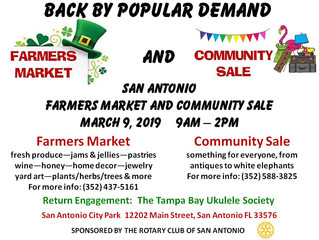 Farmers Market & Community Sale - March 9