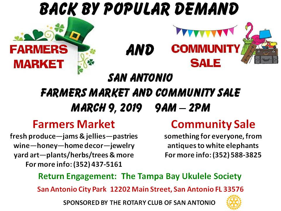 Rotary Club of San Antonio Farmers Market Ad