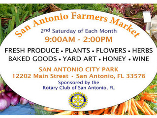 San Antonio Farmers' Market: November 10, 9:00 am – 2:00 pm