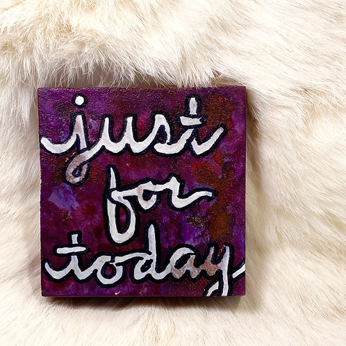 JUST BE BLOCKS: just for today