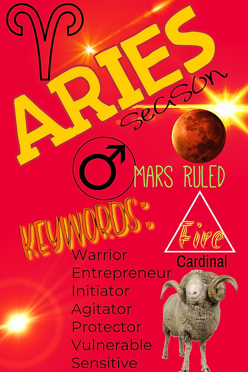MAGIC MOONING ZINE: Aries Season 2020