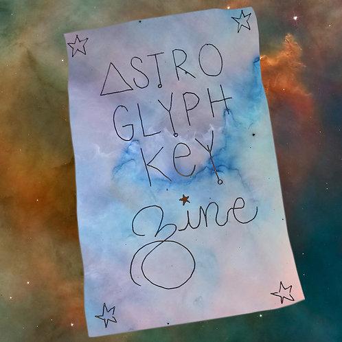 Astro Glyph Zine & How To Video