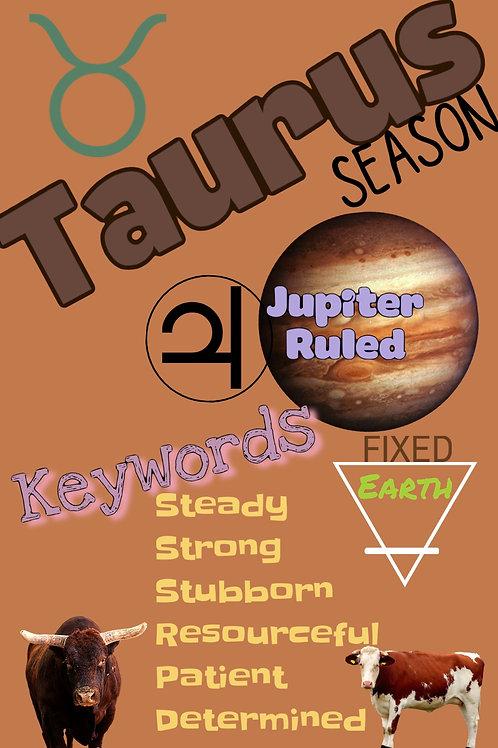 MAGIC MOONING ZINE: Taurus Season 2020