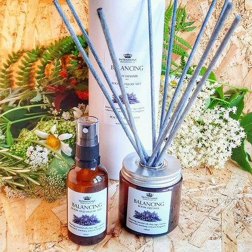 Balancing Aromatherapy Oil Diffuser and Mist Set