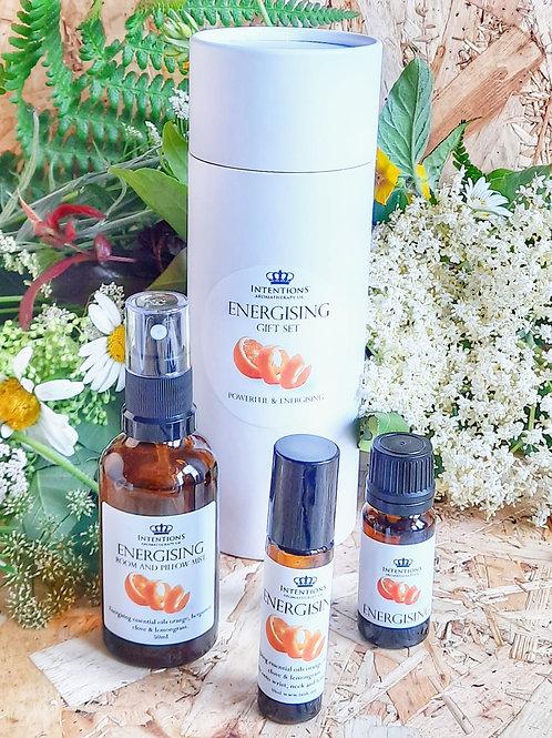 Energising Aromatherapy Gift Set