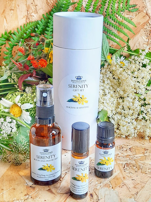 Serenity Aromatherapy Gift Set