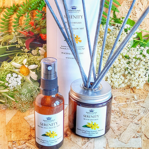 Serenity Aromatherapy Oil Diffuser and Mist Set