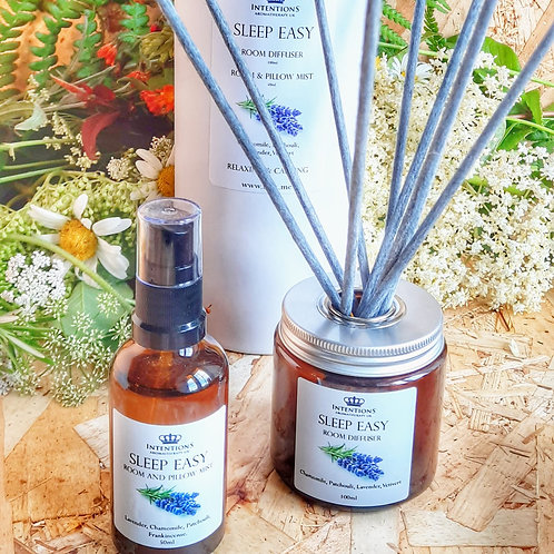 Sleep Easy Aromatherapy Oil Diffuser and Mist Set