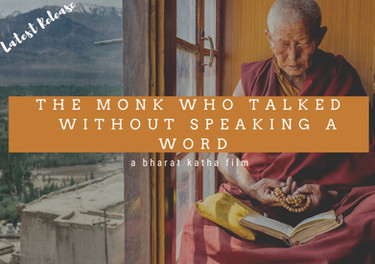 The Monk who talked without speaking
