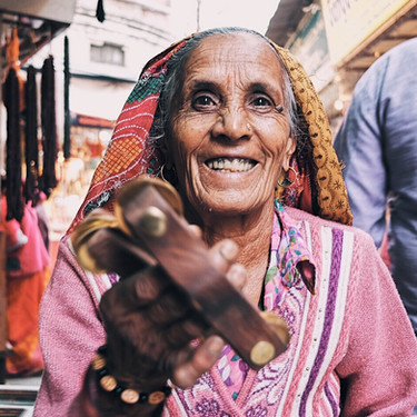 A grandma from Bikaner in Rajasthan (story)