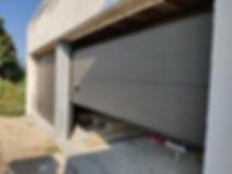 portas seccionadas ral 900 sable