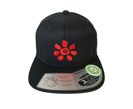 KULTJAH SUN SNAPBACK (BLACK/RED)