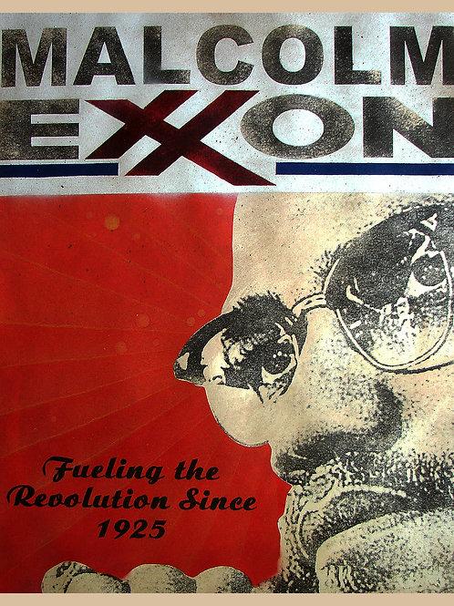 MALCOLM EXXON PRINT