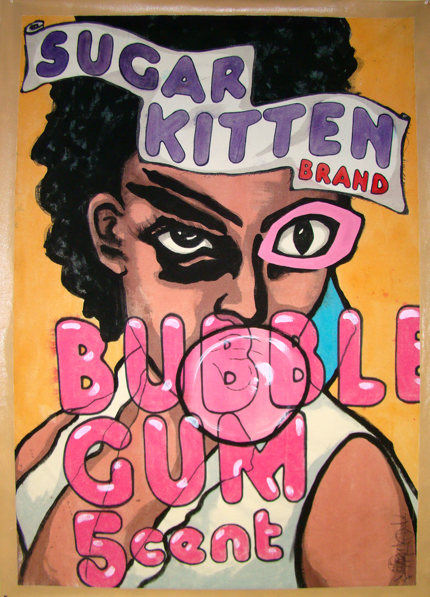 SUGAR KITTEN BUBBLE GUM