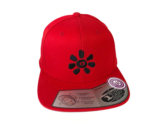 KULTJAH SUN SNAPBACK (RED/BLACK)