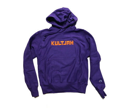 LIMITED EDITION COLLECTION KULTJAH x CHAMPION REVERSE WEAVE HOODIE (PURPLE