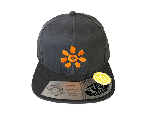 KULTJAH SUN SNAPBACK (GREY/ORANGE)