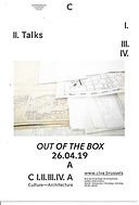 CIVA Talks: Out of the box © CIVA, Brussels