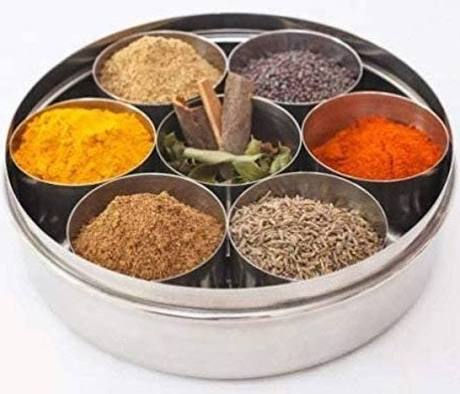 Indian Spice  Dabba (pre-filled)