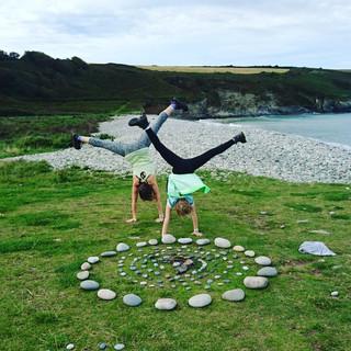 Handstands & Art in Wales