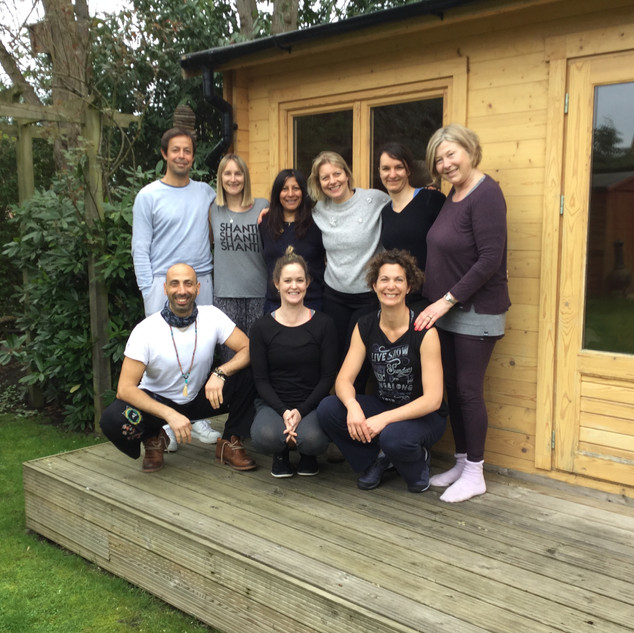 Workshop at Yoga Mango Studio