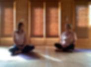 Nicky & Christine at YogaMango Studio.JP