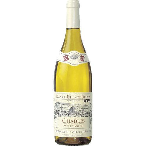 Chablis V.V. 2012 夏布利荖藤白酒