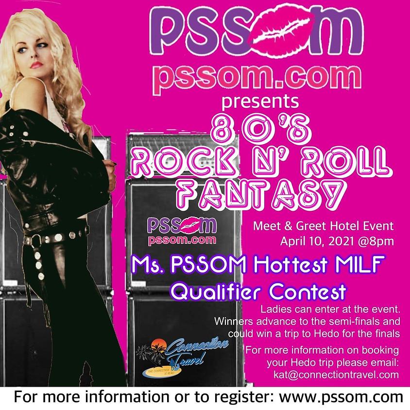 PSSOM 80's Rock N Roll Fantasy: Mizzy's Boutique Vending & Mindbender Parties Onsite