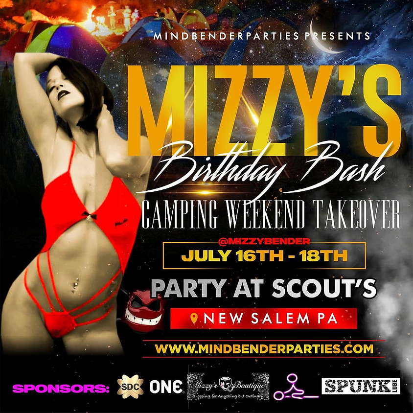 Mizzys Camping Birthday Bash Weekend Takeover