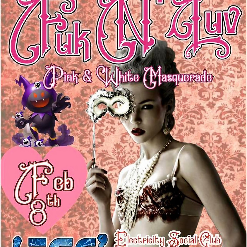 Fuk N' Luv * Pink & White Masquerade : ESC, Rhode Island