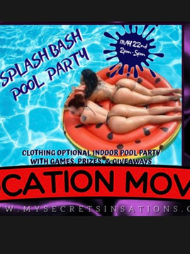 In person @ Secret Sinsations May 21-23rd, 2021