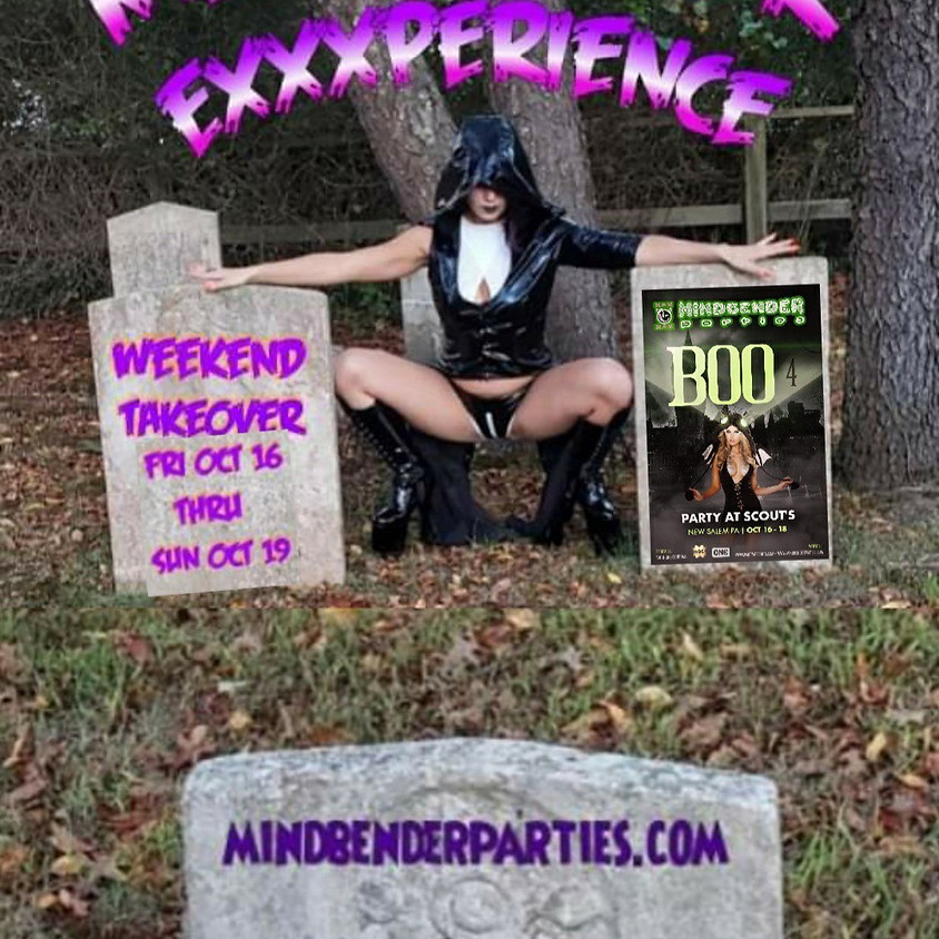 """""""Boo 4 """" a Mindbender Production Weekend Takeover Party at Scouts"""