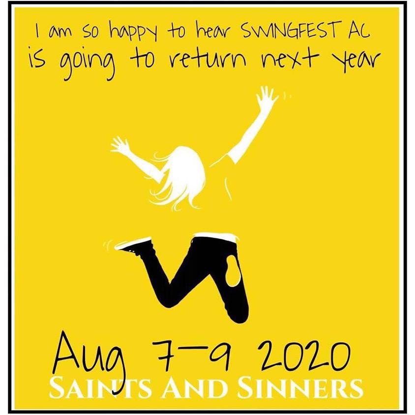 Multi Host SwingFest AC 2020 in August 7th-9th - Atlantic City