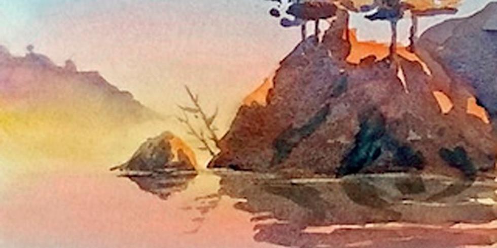 Watercolor, with Sue Zimmerman