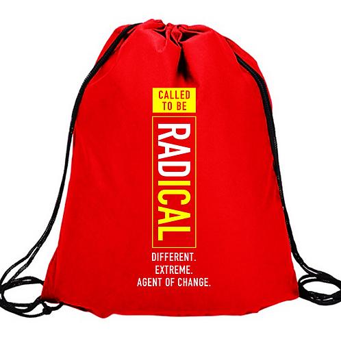 """""""Radical"""" Drawstring Bag"""
