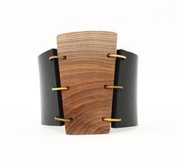 elm leather cuff bracelet