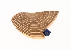 black locust lapis lazuli brooch